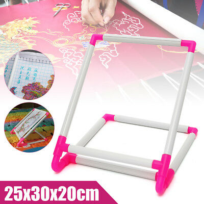 Adjustable Needlework Stand Lap Frame Needlepoint Cross Stitching Sewing Table