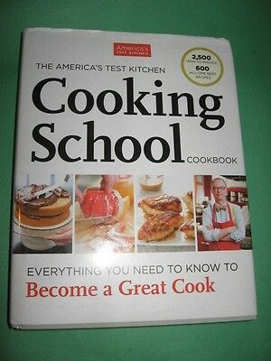 The America's Test Kitchen Cooking School Cookbook Hardcover