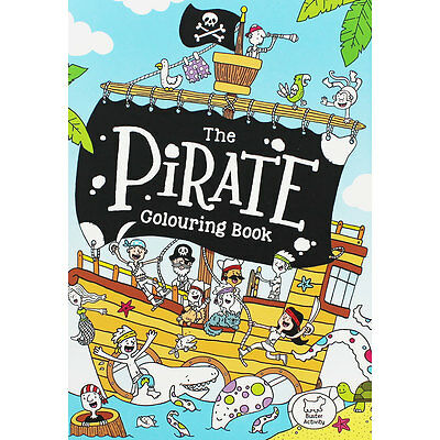 The Pirate Colouring Book by Jake McDonald (Paperback), Children's Books, New