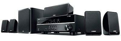 Yamaha YHT-1810 5.1ch Home Theatre Package (Black)