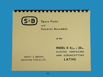 Smart & Brown Model A Spare Parts & Assembly Manual  *262