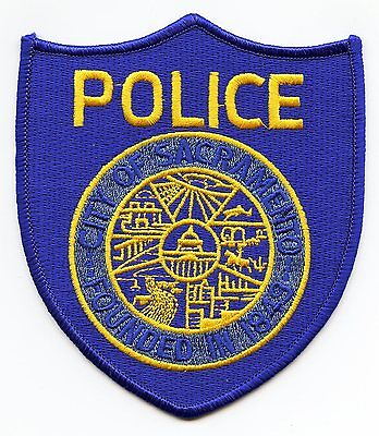 Sacramento California Ca Police Patch