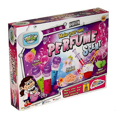 Fab Labz Childrens/Girls Make Your Own Perfume Science/Craft Educational Kit Set