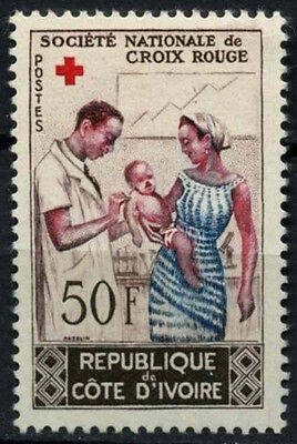 Ivory Coast 1964 SG#242 National Red Cross Society MNH #D48255