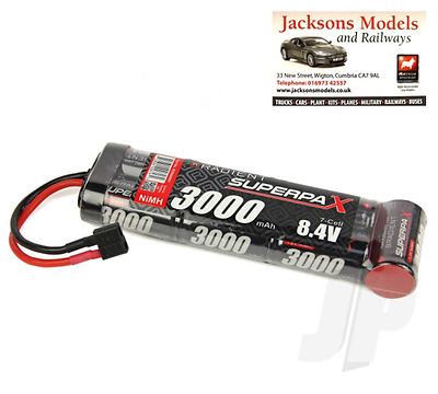 Radient RDNA0097 8.4V Battery 7-Cell 3000mAh NiMH Deans Stick Pack for RC Car