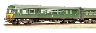 Bachmann 32-286A - BR Class 101 2-Car DMU in BR Green (Weathered) - New.(00)