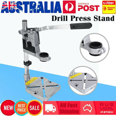Holes Bench Drill Press Stand Cast Metal Base Frame for Drilling Collet 38/ 43mm