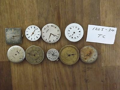 Good Lot Of  Mixed  Watch Movements For The Watch Maker
