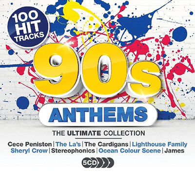 Various Artists : 90s Anthems: The Ultimate Collection CD (2017) ***NEW***