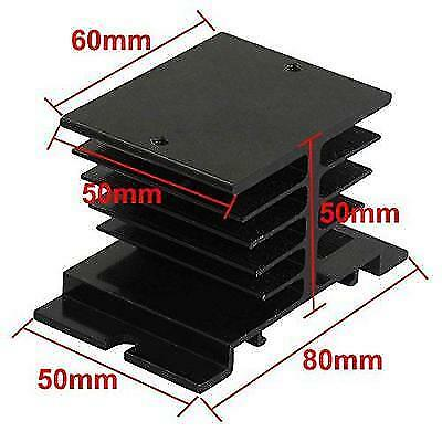 Aluminum Heat Sink for Solid State Relay SSR Heat Dissipation New