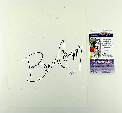 Bill Cosby Signed 8x10 Blank Card Ideal for Display JSA Auto