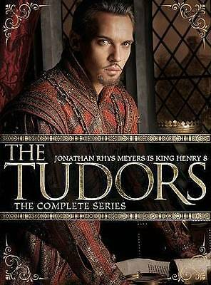 The Tudors: The Complete Series (DVD, 2014, 14-Disc Set) NEW