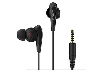 Sony MDR NC31EM Noise-Cancelling Earphones - Black