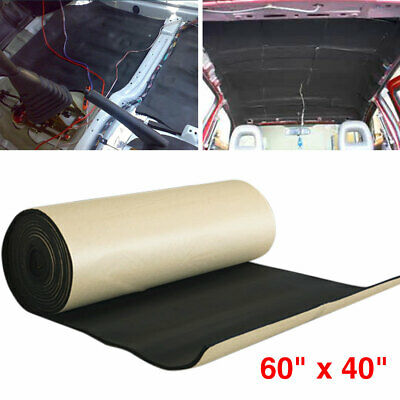 6mm 6mm Audio Stereo Sound Acoustic Noise Absorbing Dampening Mat 50*80cm