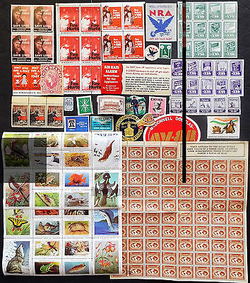 Us Cinderella Stamps And Labels