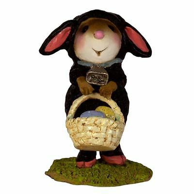 Wee Forest Folk M-433a Mommy's Little Black Lamb