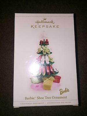 2005 Hallmark Keepsake Barbie Shoe Tree Ornament Mib
