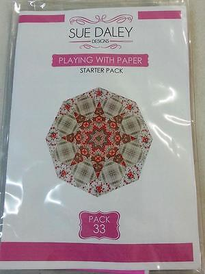 English Paper Piecing Sue Daley Playing With Paper Starter Pack #33