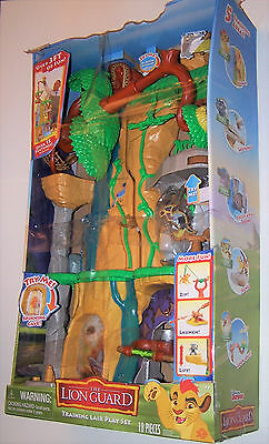 Disney Lion Guard Kids 3ft Training Lair Playset With Lights And Sounds