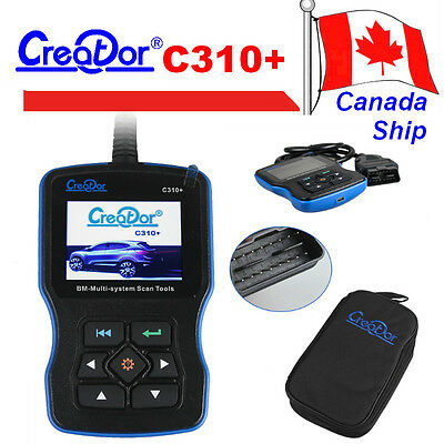 Canada Ship Creator C310+ Scanner BMW Multi System Scan Tool OBD2 Code Reader