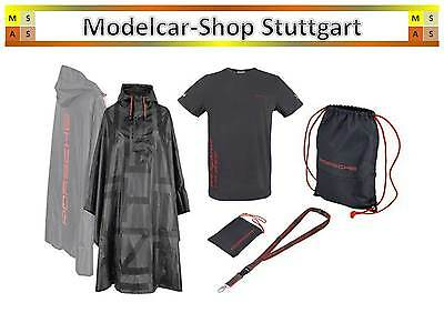 Porsche Le Mans Fan Package Größe L (Shirt, Regen-Poncho, Packtasche, Backpack)