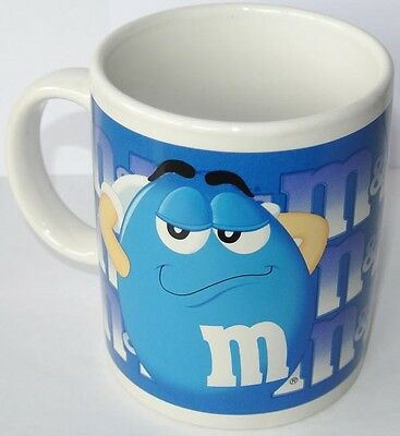 COFFEE MUG - Kaffeetasse * M&M´S * blau - US Import 2002