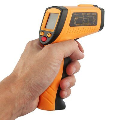 Temperature Temp Meter Gun Non-Contact Digital Laser Infrared IR Thermometer