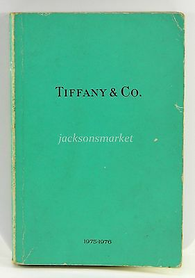 Tiffany & Co. Jewelry and Gift Catalog Book 1975 Full Color Beautiful Pieces