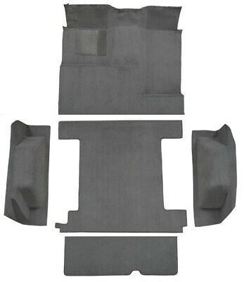 1974-1976 Ford Bronco Complete Cutpile Replacement Carpet Kit with 1 Gas Tank