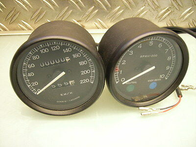 """smith-Style"" 80Mm Tachometer Drehzahlmesser Speedometer Rd 250 Rd 350 Minitacho"