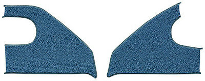 1969-1972 Chevrolet Blazer Loop Carpet Kick Panel Inserts with Cardboard