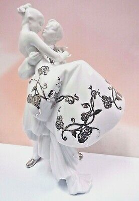 The Happiest Day Re-Deco Bride Groom Wedding Love 2007 By Lladro Porcelain #7055