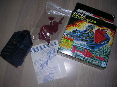 gi joe Action Force Cobra Hydro-Sled 1986 Complete In Box And With Instructions!