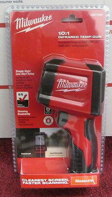 New Milwaukee 2267-20H 10:1 Infrared Temp-Gun