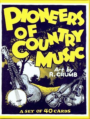 "R. Crumb ""Pioneers of Country Music"" Set of 40 Cards - Brand New Set SEALED"