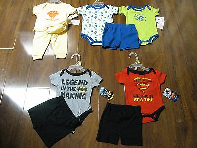 10 Pc. Lot Newborn Baby Boys Clothes 0-3 Months Spring Summer 0/3M Outfits NWT