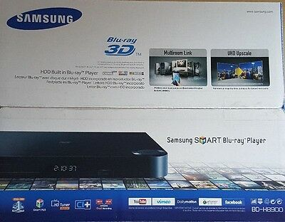 samsung bd h8900 3d blu ray player mit 1 tb festplatte. Black Bedroom Furniture Sets. Home Design Ideas