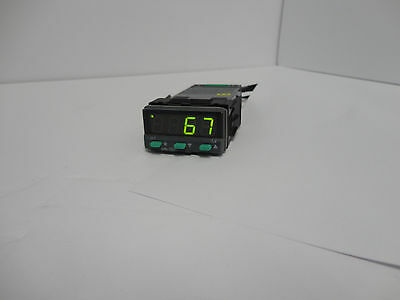 CAL Controls 3200 1/32 DIN Temp Controller DC Powered SSR and Relay for TC/RTD
