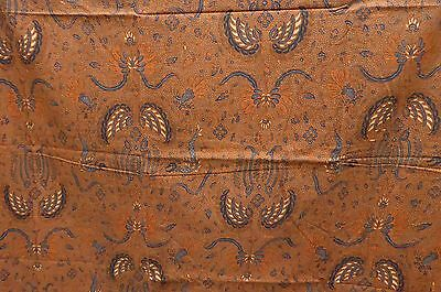 Antique Style Pattern Javanese Batik Fabric ~ 218 cm's ~ 100% Cotton B114
