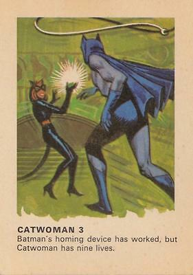 Batman card from Weeties and Rice Krinkles Catwoman 3