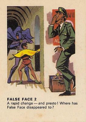 Batman card from Weeties and Rice Krinkles False Face 2