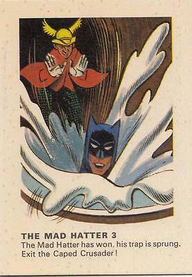 Batman card from Weeties and Rice Krinkles  The Mad Hatter 3