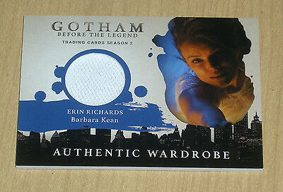 2017 Cryptozoic Gotham season 2 wardrobe costume Erin Richards BARBARA KEAN M26