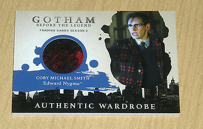 2017 Cryptozoic Gotham season 2 wardrobe costume Cory Michael Smith NYGMA M16