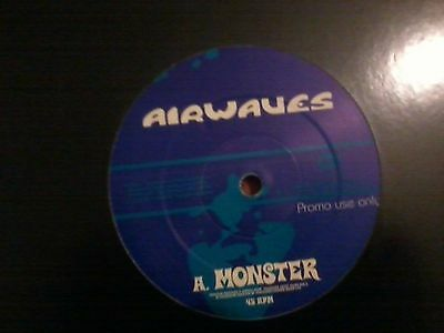 Airwaves ‎– Monster/Junkmail (IGNITION RECORDS)(BREAKBEAT/BIG BEAT)(EX CONDITION