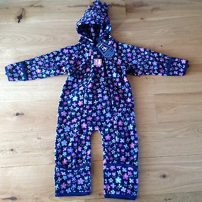 BNWT Jojo Maman Bebe Polarfleece All-in-One Snowsuit (18-24 months) -RRP £39
