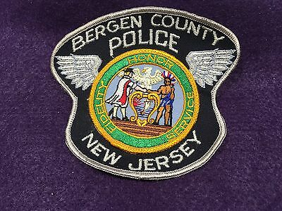 Vintage Bergen County Police New Jersey Patch