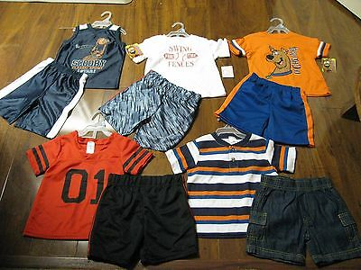 10 Pc. Lot  Infant Baby Boys Clothes 24 Months Spring 24M Outfits Sets NWT