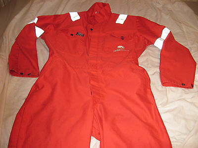 Mens Wenass Red Antiflame EN 831 Safety  Coveralls Size 44  SEE DESCRIPTION