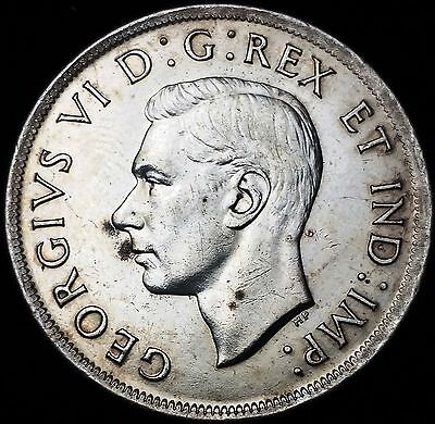 1939 Canada Silver $1 Dollar ***Great Condition*** Nice Detail - 80% Silver Coin